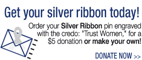 Get Your Free Silver Ribbon Today! Donate