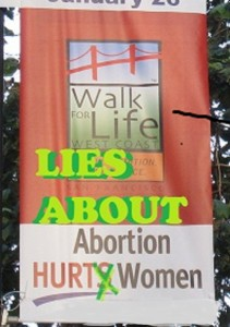 Lies About Abortion SF Jan. 2014